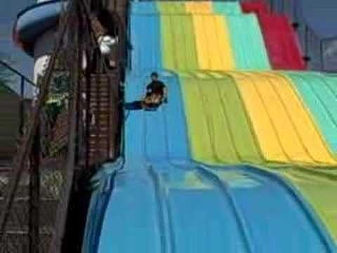 The Rainbow Slide in Estes Park, Colorado.
