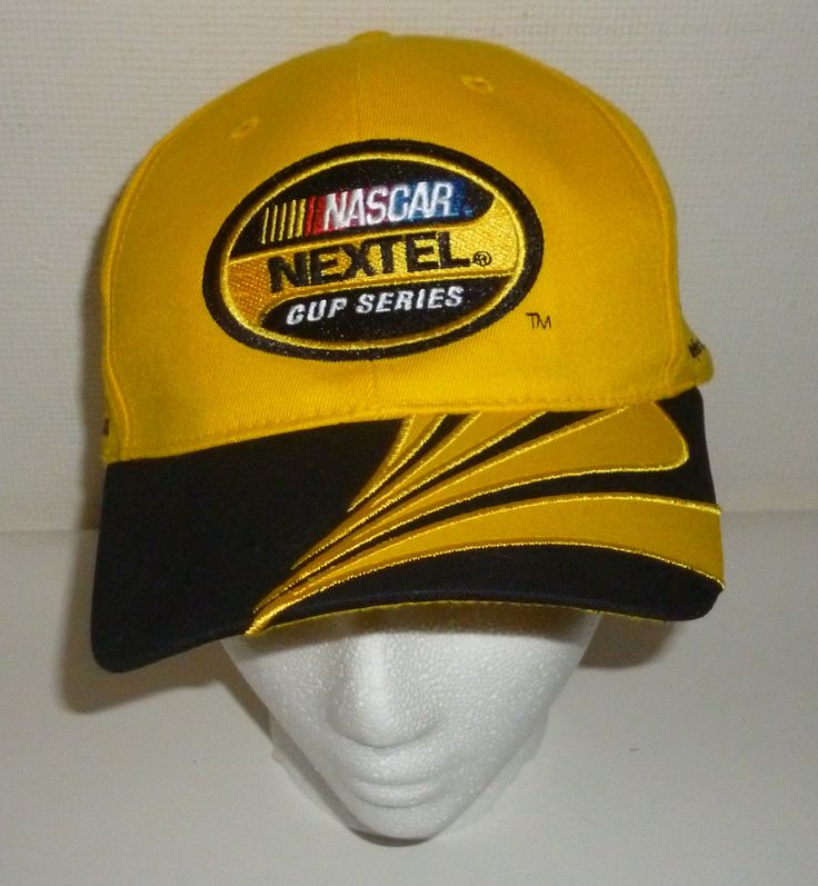 Yellow Nascar Nextel Cup Series Race Car 2006 Phoenix Baseball Cap Hat