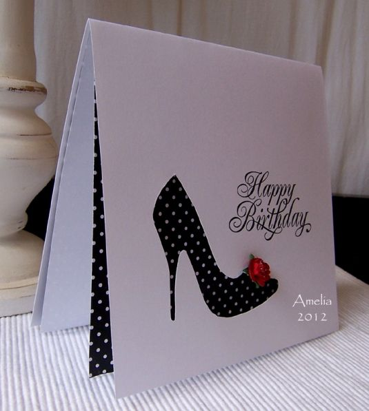 Love this card! modern, cute!