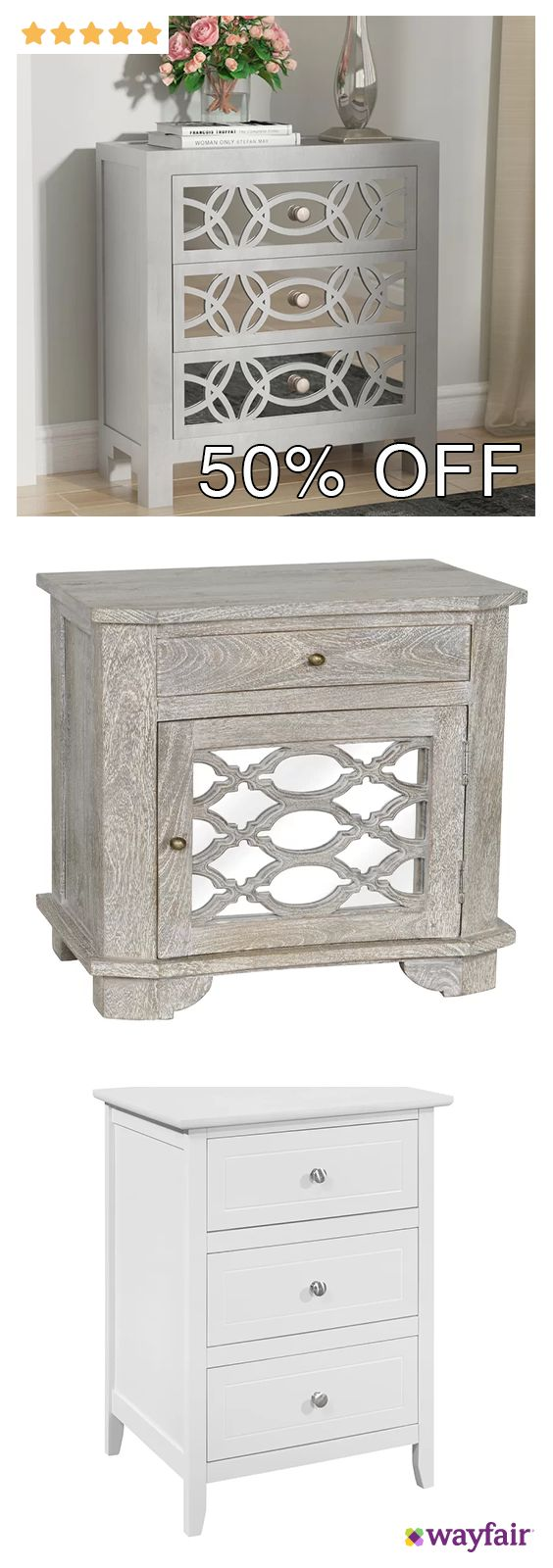 The eclectic appeal of this 1 Drawer Nightstand is portrayed by its hand-carved geometric pattern and clean lines outlining the piece. The mirror doors add a glamorous touch to this transitional and versatile nightstand. Best showcased with a complementary upholstered bed, this nightstand is bound to uplift the beauty any bedroom decor. | room home decor ideas kitchen bathroom bedroom furnishings furniture rug flooring garden pictures plants bath bed dining light lighting rugs...