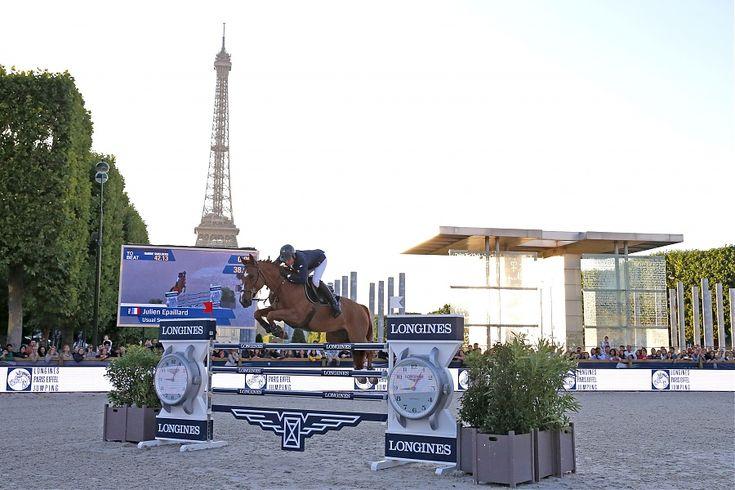 El jinete francés Julien Epaillard se llevó la victoria en casa del octavo Gran Premio en el calendario del Longines Global Champions Tour, al dominar la ronda de desempate para tres clasificados en cancha diseñada por el italiano Uliano Vezzani.