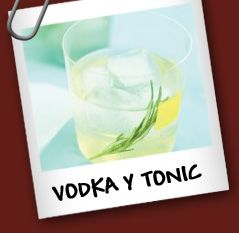 Vodka y Tonic Ingredientes • 2 oz de vodka • 1 oz Chartreuse verde ...