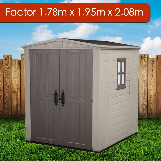 Beautiful Looking Small Size Resin Garden Storage Shed For All Your Storage Needs Perfect For Inner City Areas Where Sp Garden Storage Shed Shed Garden Shed
