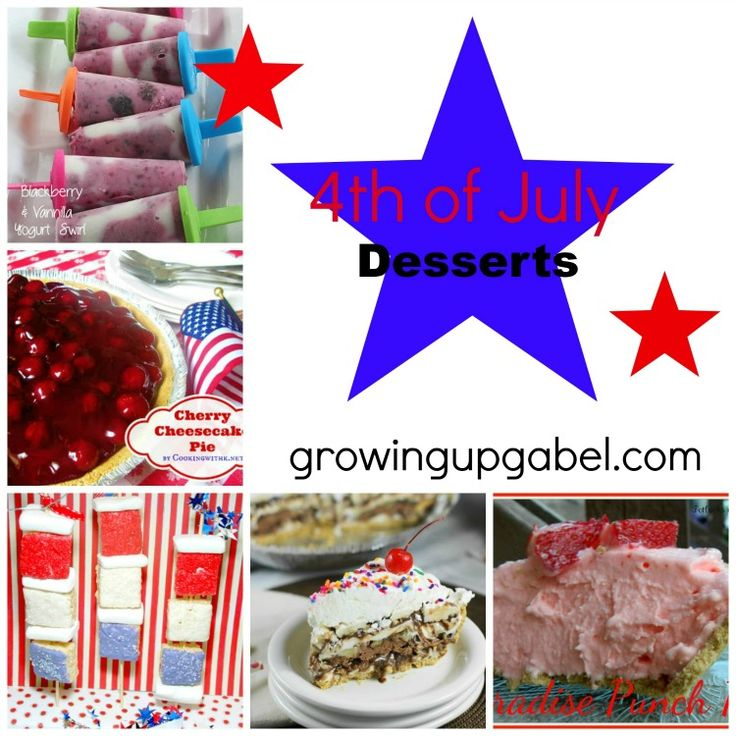4th of july camping desserts