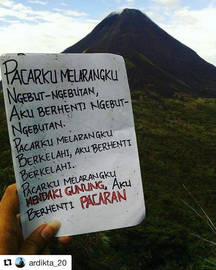 "204.5k Likes, 2,176 Comments - :Dagelan - Asikin aja lagiii (@dagelan) on Instagram: ""Well noted @ardikta_20 👌🏻👌🏻 ・・・ ✅Mungkin kita akan naik gunung bersama 😅  Mt.Klabat 🗻  #Pecita…"""