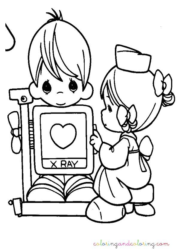 Nurse Coloring Pages Kindergarten. Precious Moments Coloring Pages  precious moments nurse 1161 best coloring pages images on Pinterest books