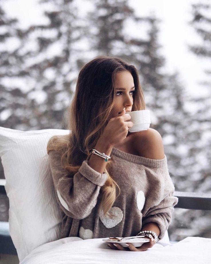 Kuscheliger Pullover mit Herzen – Luana Silva