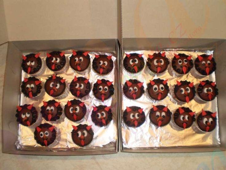 Čertí muffinky