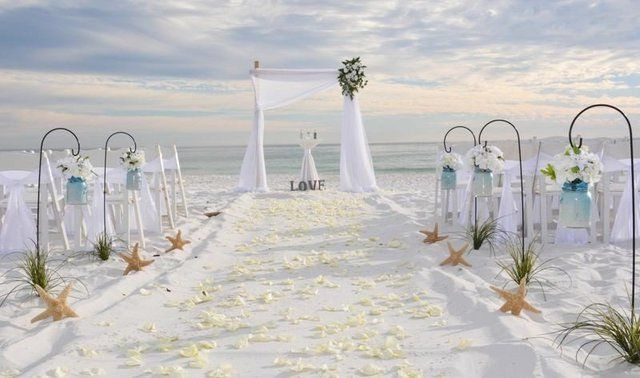 Get Married Barefoot On The Beach In Florida Barefoot Wedding Beach Wedding Bridesmaids Beach Wedding Packages