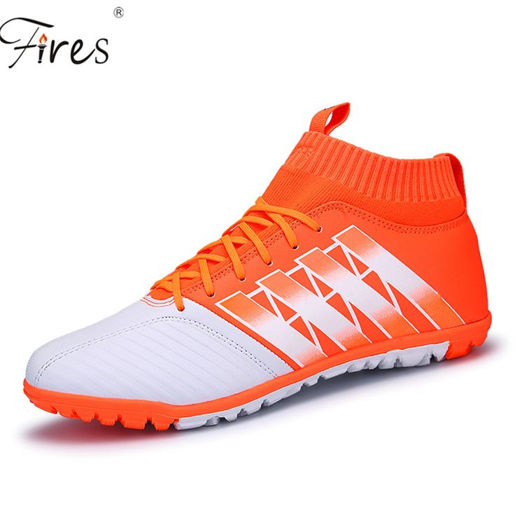 2017 Outdoor Soccer Shoes \boots Men Waterproof PU Leather Football Boots Long Spikes Sports Shoes chuteiras zapatos de futbol