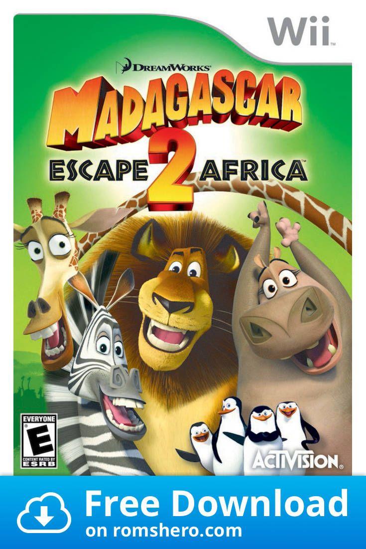 Download Madagascar Escape 2 Africa Nintendo Wii Wii Isos Rom In 2020 Madagascar Escape 2 Africa Madagascar Wii