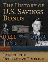 GIVE U.S. SAVINGS BONDS AS GIFTS FOR YOUNG  CHILDREN  History of U.S. Savings Bonds