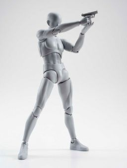 S.H. Figuarts Actionfigur - Mann - 15 cm DX Grey Set