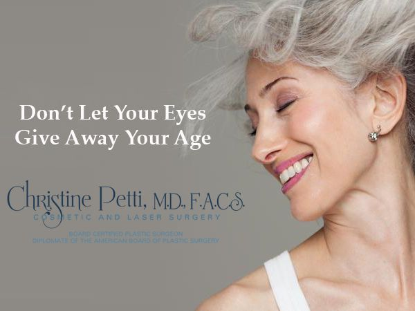 Dr. Petti's goal is to help you acheive a result where the eyes look bright and soft. Erase #EyeBags #DroopyLids #DrPetti