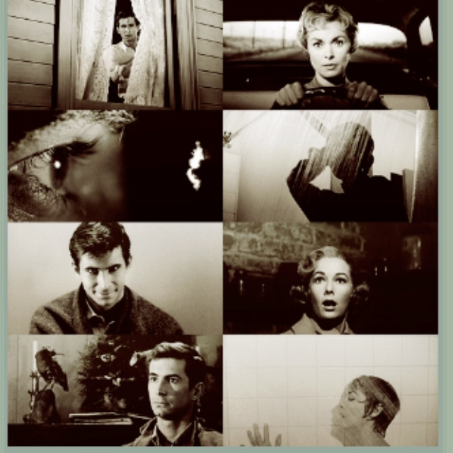 Psycho ~ Starring: Anthony Perkins, Janet Lee, Vera Miles and John Gavin (1960)