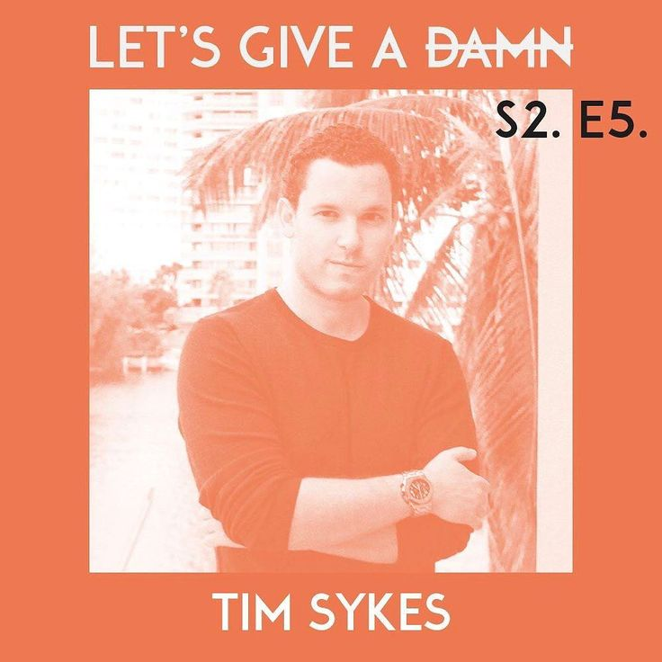 """Money is good. Money with meaning is even better. I want more people to go after that.""  Im so thrilled for you to hear my conversation with @TimothySykes who was on the @LetsGiveADamn podcast last weekend.  Timothy is a penny stock trader who loves his Lamborghini and his lavish lifestyle. Why is he on the podcast? Because he loves to give back. He has done so to the tune of millions of dollars so far through his foundation and through his work with the incredible @PencilsOfPromise. I…"