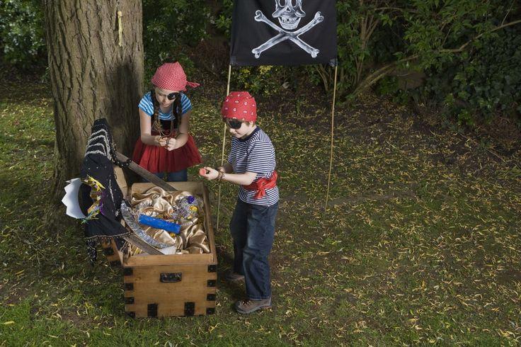 Cómo decorar con adornos piratas