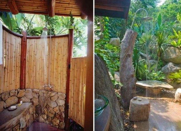 25 Fabulous Outdoor Shower Design Ideas Outside Areas