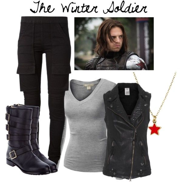 """""""The Winter Soldier"""" by Bethany Brooks on Polyvore"""