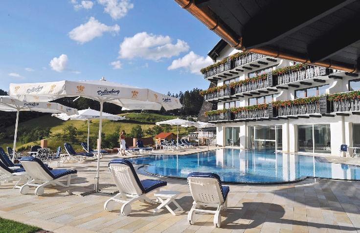 Het vijfsterren superieur Relais & Châteaux Hotel Dollenberg benadert de perfectie. Naast een reis door het Zwarte Woud zul je ook een culinaire ontdekkingsreis maken. Daarnaast is er een uitgebreid schoonheids- en wellnesscentrum. Relais & Châteaux Hotel Dollenberg ligt heel mooi aan de rand het bos met uitzicht over het dal. Het groene paradijs rond om de Dollenberg nodigt uit om te wandelen. Op 58 km ligt Baden-Baden, de meest mondaine stad van het Zwarte Woud.  Officiële categorie *****