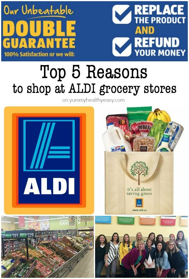 Let me tell you why YOU need to shop at ALDI Grocery Stores if you don't already. Here are my top 5 reasons plus a $25 ALDI gift card giveaway!