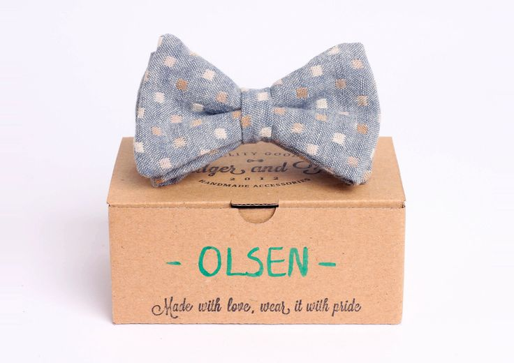Be groovy but low-key at the same time! We introduce to you Olsen, the grey arrowhaed bow-tie from Badger & Fox 2014 spring/summer collection.