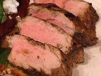 Balsamic- Rosemary Grilled Pork Tenderloin
