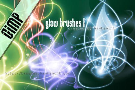Neon Brushes for GIMP