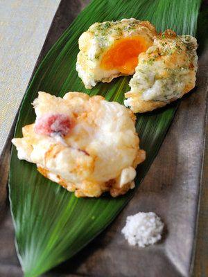 冷凍卵の変わり天ぷら
