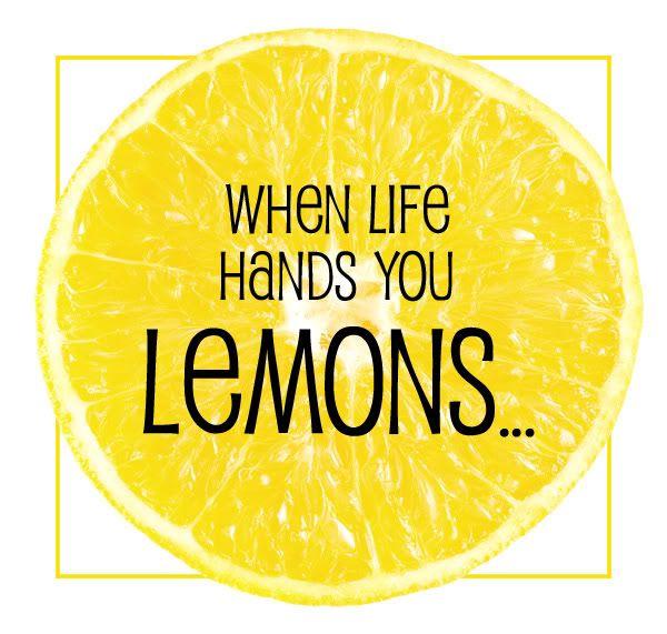 a thousand words: Lemon Enrichment activity