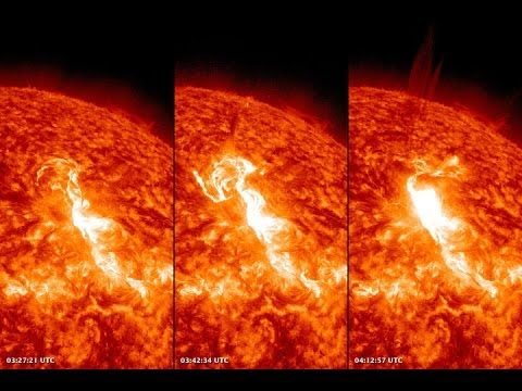 Sun Documentary Solar Flares Why Storms are Dangerous video