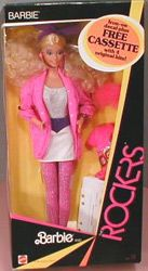 """Barbie and the Rockers! Free """"cassette"""" I listened to that thing till it BROKE!"""