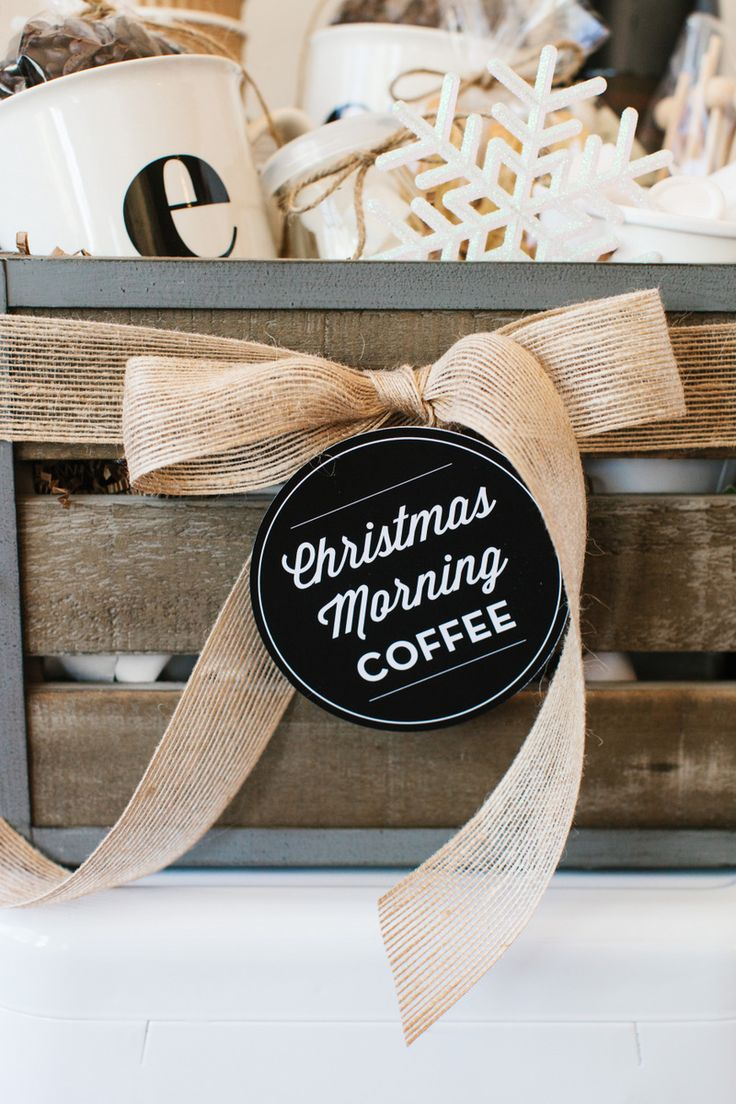 With the holiday season in full swing, it is time to make sure you have everyone covered in the gift department! Gift baskets are perfect for those hard to shop for people on your list. We loved creating this Christmas Morning Coffee basket for our holiday gift basket feature on DIY Network! The must-haves for a coffee …