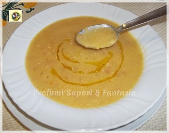 Crema di patate e fagioli Blog Profumi Sapori Fantasia