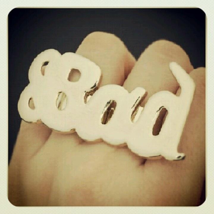 Bad Ring a la Lama Del Rey