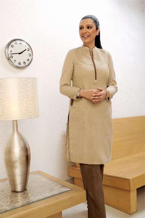 An elegant office wear..Get it done by www.fabdarzi.com