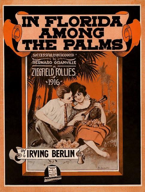 Vintage Ziegfeld sheet music cover