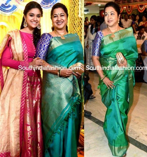 Radhika Sarathkumar at Revathy Sureshs Wedding Reception photo