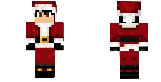 Новогодние и Рождественские скины для Minecraft Pocket Edition