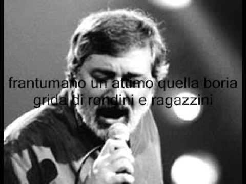 Lettera - Francesco Guccini