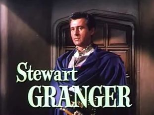 Stewart Granger. Apparently a terrible schmuck, but oh my, look at him. Guy could wear a costume.