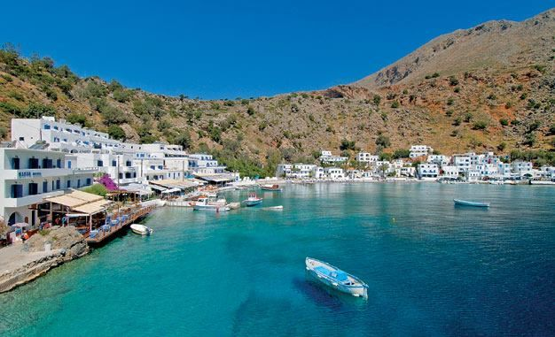 The coolest turqoise on the clearest and most transparent sea water that is characteristic of Loutro, on the south coast of Chania, Crete. https://www.facebook.com/SentidoPearlBeach/photos/pb.183158851731783.-2207520000.1446482832./876947145686280/?type=3