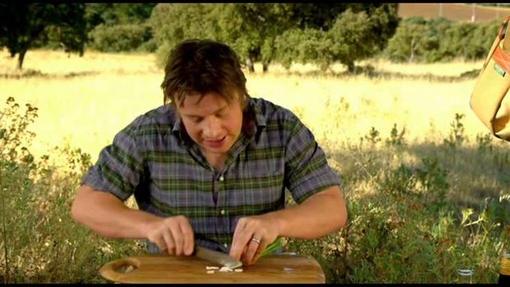 Jamie Oliver   Tomato Salad with Chorizo