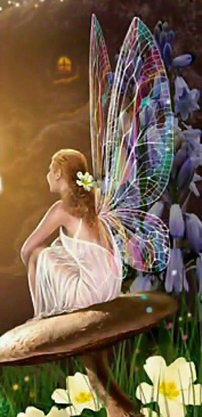 Es ella, mi hada, mi ángel...