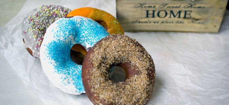 Ντόνατς #Homemade #donuts #cooking #recipes