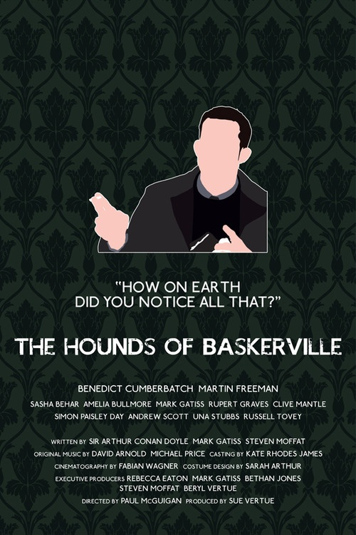 Sherlock: The Hounds of Baskerville Henry Knight poster