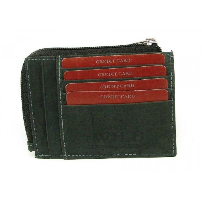 Klíčenka kožená černá - peněženky AHAL