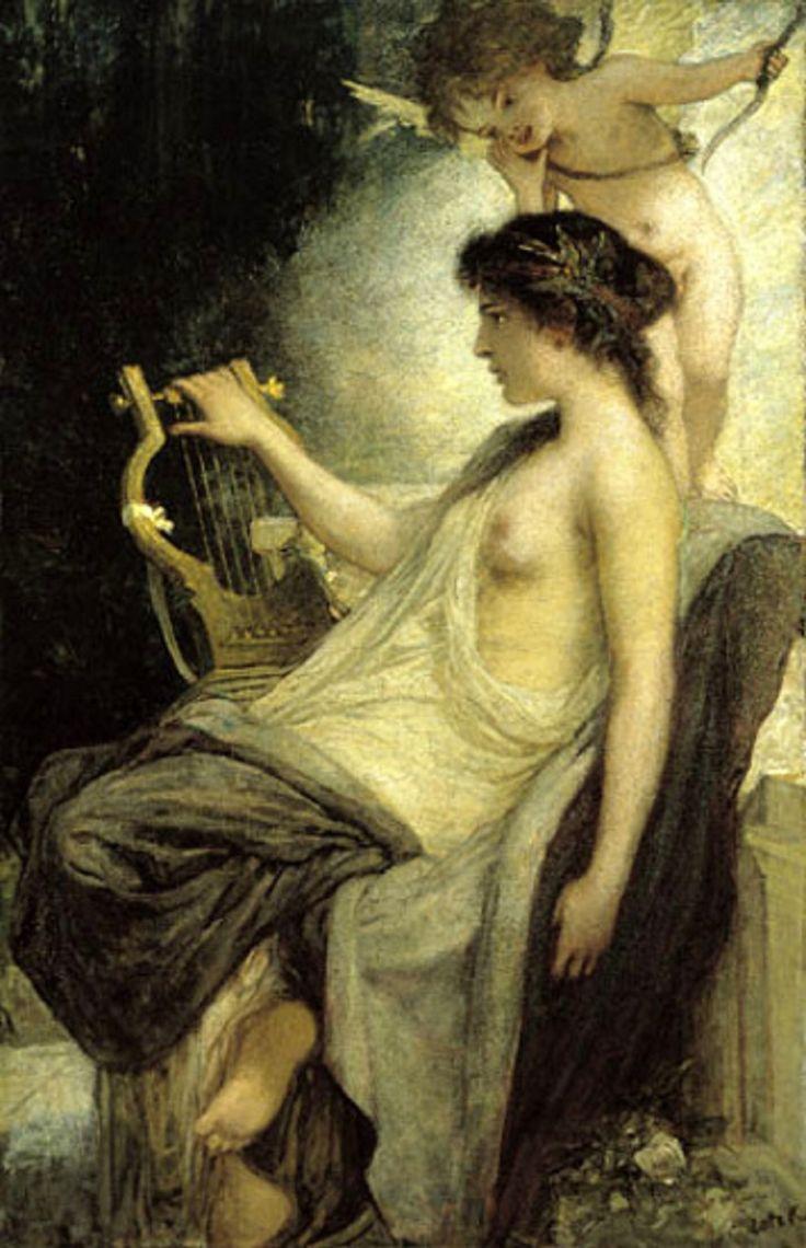 silenceforthesoul: Karoly Lotz (1833-1904) - Muse