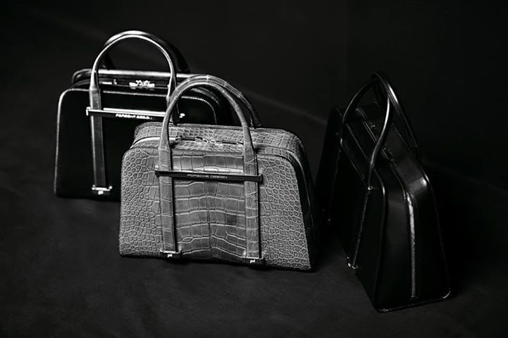 ATTRACTIVE AND EXCITING QUALITY: Twin Bag Porsche Design - Made in Italy! See our wonderful selection of ladies handbags at our Hyde Park Corner Store.