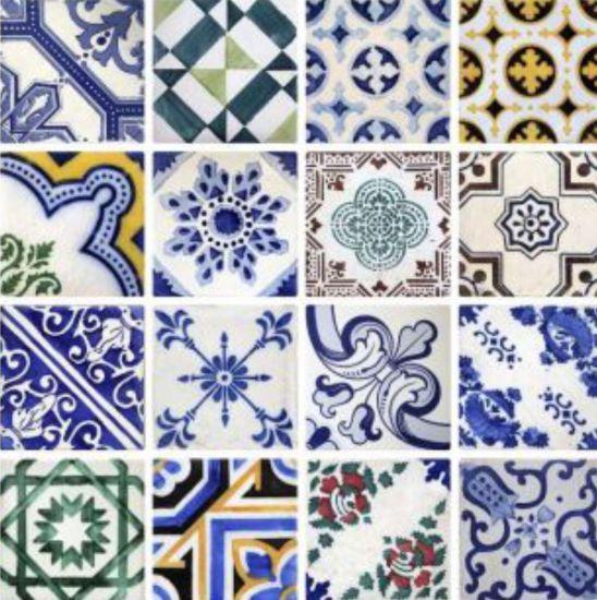 Adesivo Azulejo Português Porto na Adesivos e Decoração